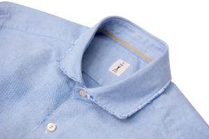 Camicia oxford azzurra in cotone. Tar Milano