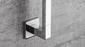 Porta rotolo per il bagno serie Basic Q Colombo design