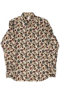 Camicia in velluto stampa floreale. Tar Milano