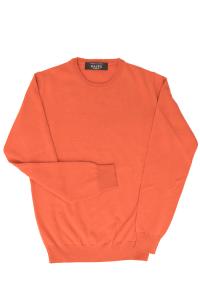 Maglione uomo in  morbido Cashmere color caco Raffo