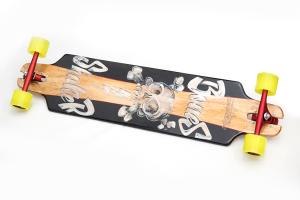 Longboard Free Ride Teschio AC Longboards