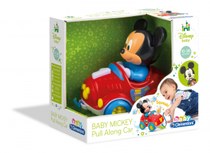 BABY MICKEY PULL ALONG CAR 17208 CLEMENTONI