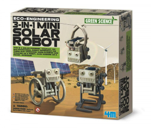 ECO EMGINEERING / 3-1 MINI SOLAR ROBOT  - GREEN SCIENCE