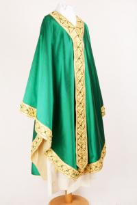 Casula C154FW Verde - Seta Lurex