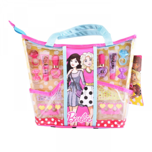 Barbie Express Yourself! Beauty Tote Set 7 Parti