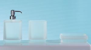Dispenser dosa sapone per il bagno serie Time Colombo design