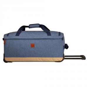 Delsey - Maubert - Borsa da viaggio trolley 64 cm blu cod. 0015220