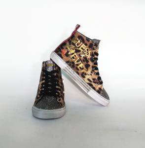 Sneaker alta animalier Guess