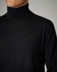 Dolcevita nero in lana