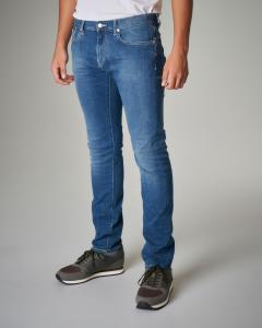 Jeans J13 slim-fit lavaggio medio-chiaro