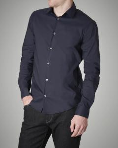 Camicia blu stretch