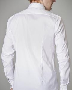 Camicia bianca stretch extraslim