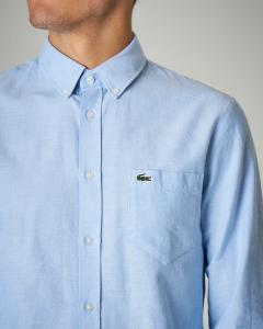 Camicia in Oxford button down con taschino