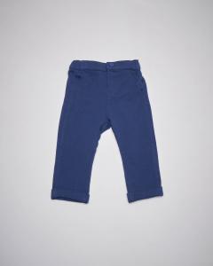 Pantalone blu felpa