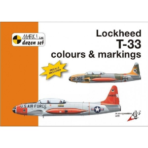LOCKHEED T-33 COLOURS & MARKINGS
