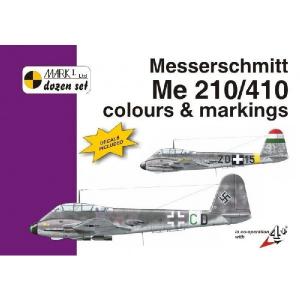ME 210/410 C & M (1/72 DECALS)
