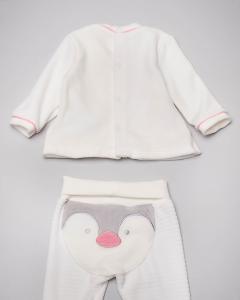 Completo rosa pinguino 1-4
