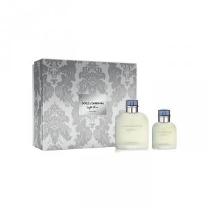 Dolce & Gabbana Light Blue Homme Eau De Toilette Spray 125ml Set 2 Parti 2018