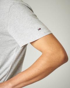T-shirt grigia girocollo