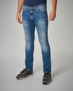Jeans slim-fit blu chiaro