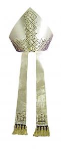 Mitra M18 Cripta Gotica - Seta Lurex