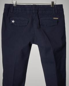 Pantalone blu con bande 36-44