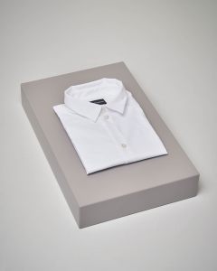 Camicia bianca manica lunga