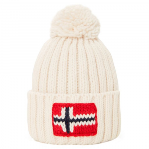 Hat Napapijri  N0YGSE 002 BRIGHT WHITE