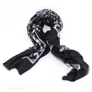 Haedscarf Liu Jo GEOMETRIC LOGO N68315 T0300 NERO
