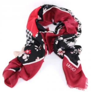 Haedscarf Liu Jo PIED DE POULE N68319 T0300 RED