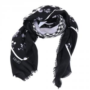 Haedscarf Liu Jo PIED DE POULE N68319 T0300 NERO