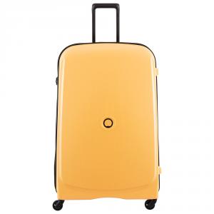 Delsey - Belmont - Valigia trolley grande 82 cm 4 ruote rigido TSA giallo cod. 3840830