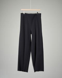Pantalone nero cropped