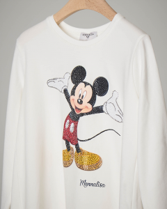 T-shirt nera Mickey Mouse