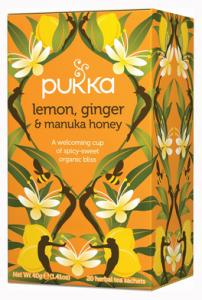 Pukka - tisana al limone, zenzero e miele di Manuka