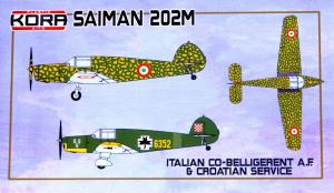 Saiman 202M Italian Co-Belligerent A.F. & Croatia Service
