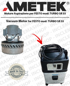 TURBO SR 5E ASPIRAZIONE AMETEK for vacuum cleaner FESTO