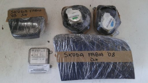 Kit air bag usato originale Skoda Fabia 2007>