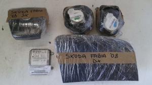 Kit air bag usato originale Skoda Fabia 2007>