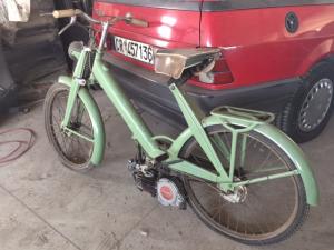 Bicicletta Mosquito a motore