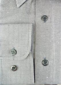 Camicia uomo manica lunga quadretti economica