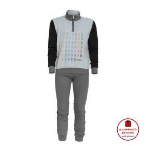 JUVENTUS pigiama felpa cotone uomo official product