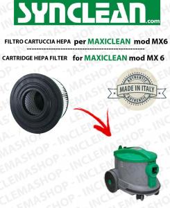 MX6  CARTRIDGE HEPA FILTER vacuum cleaner GHIBLI - cod: 2512755