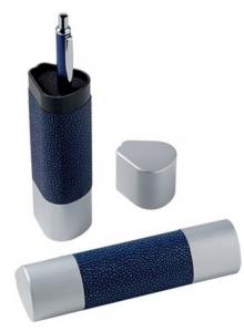 Box triangolare per penna senza penna cm.4,6x4,1x15,7h