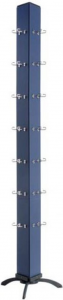 Espositore portachiavi maxi cm.12x12x180h