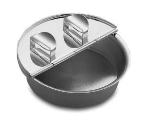 Posacenere sigaro il primo in silver plated cm.3h diam.10