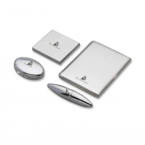 Set 4 pz lux lady Mary Lamborghini in silver plated