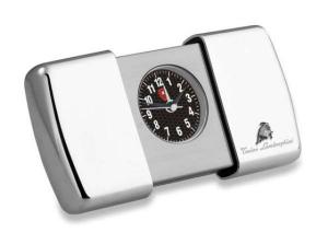 Sveglia Monza in silver plated cm.2,2x13,2x7h