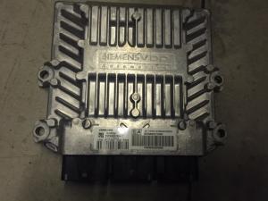 ECU Centralina motore, Citroen, Peugeot, Fiat, Lancia 5WS40318H-T HW9662273580 SW 9655534080 SID803A