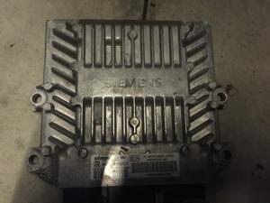ECU Centralina motore CITROEN C3 1.4 HDI SIEMENS 5WS40110C-T, 5WS40110CT, SW 9653447480, HW 9648624280, SID804